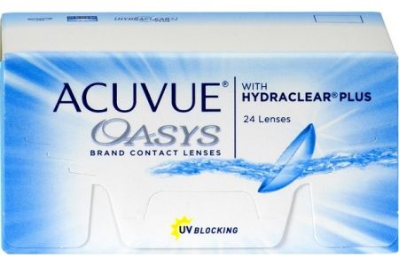 Acuvue Oasys 24 with Hydraclear Plus - Lentilles de contact