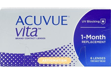 Acuvue Vita for Astigmatism - Lentilles de contact