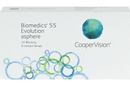 Biomedics 55 Evolution - Lentilles de contact