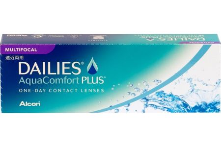 Dailies aqua comfort Plus Multifocal 30 - Lentilles de contact