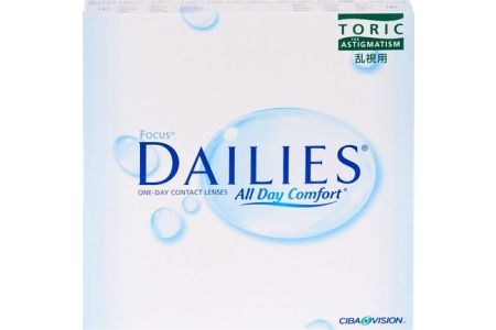 Focus Dailies All Day Comfort Toric 90 - Lentilles de contact