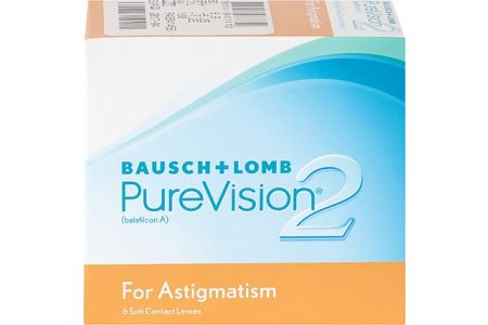 Purevision 2 HD Toric (For Astigmatism) - Lentilles de contact