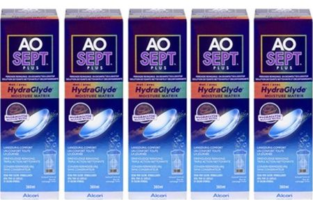 Aosept Plus HydraGlyde Multipack Eco 5x360ml